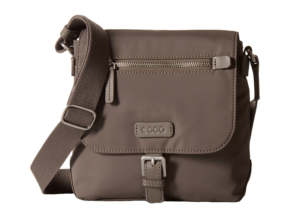 ECCO - Gibbs Crossbody (Stone) Cross Body Handbags