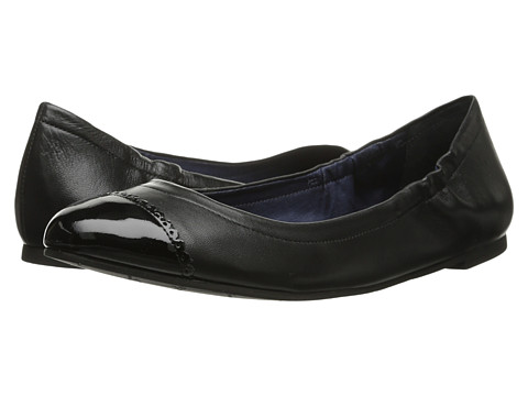 Jack Rogers - Bree Leather (Black/Black Patent) Women