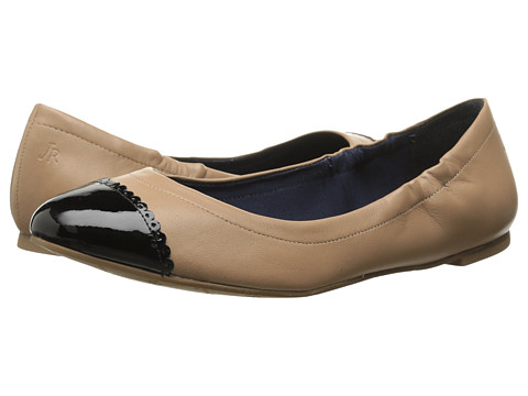 Jack Rogers - Bree Leather (Rose Cream/Black Patent) Women