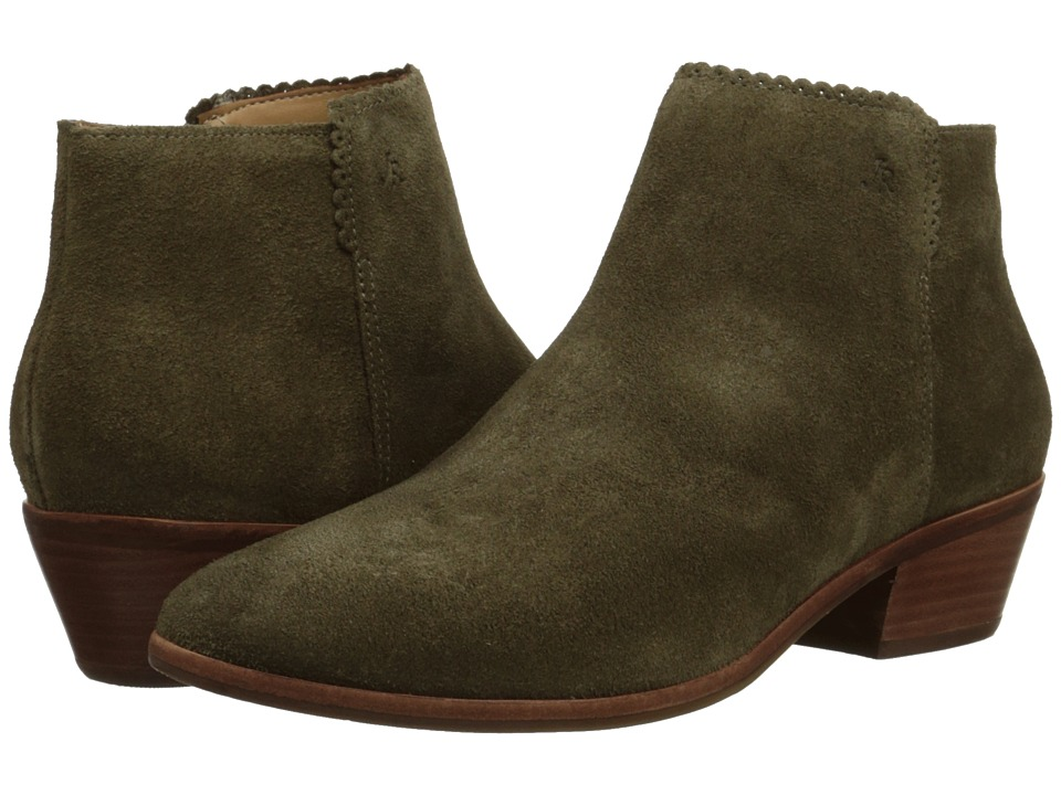 Jack Rogers - Bailee Suede (Olive) Women's Boots