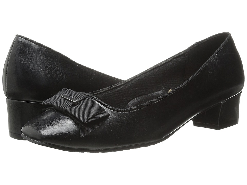 Soft Style - Sharyl (Black Elegance) Women's 1-2 inch heel Shoes