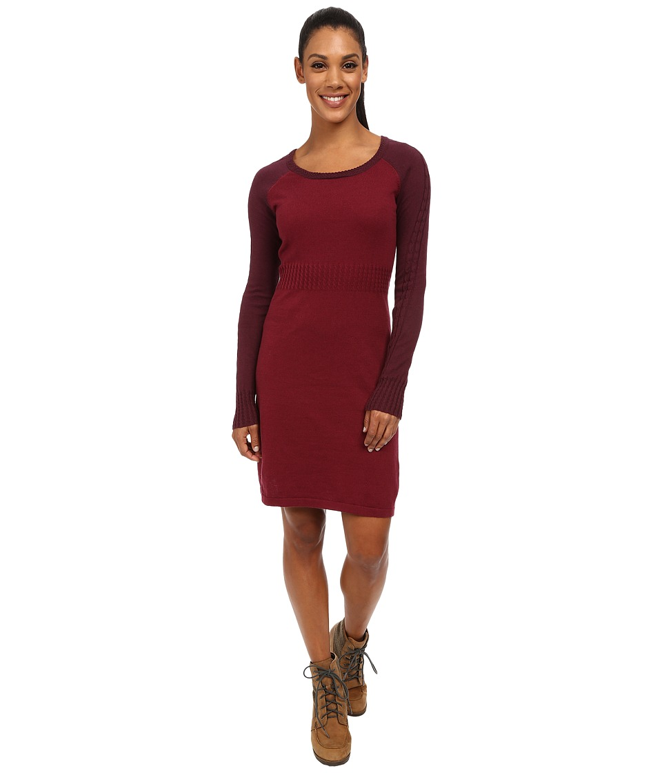 Aventura Clothing - Jaylee Dress (Merlot/Winetasting) Women