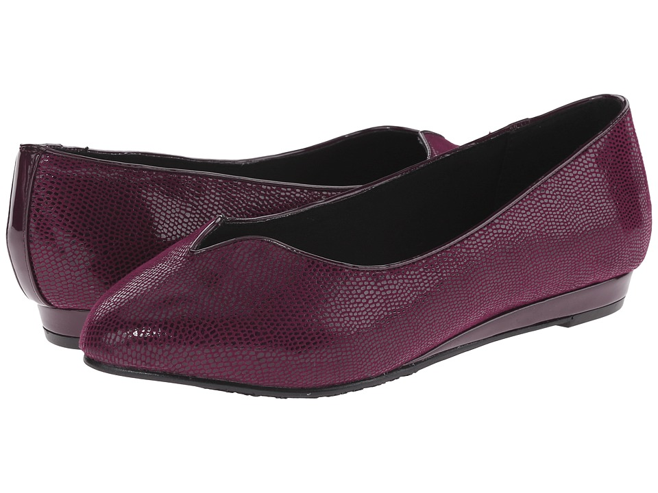 Soft Style - Dillian (Port Royal Lizard) Women's Dress Flat Shoes