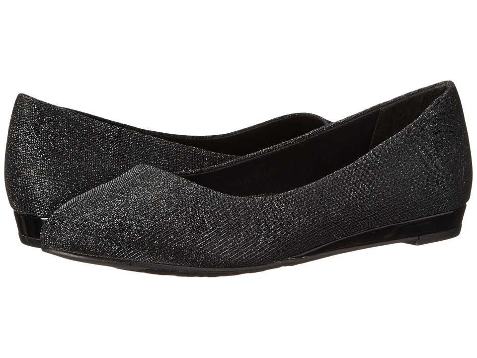 Soft Style - Darlene (Black Cosmic) Women's Dress Flat Shoes
