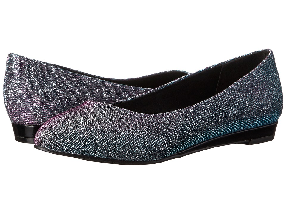 Soft Style - Darlene (Fuchsia/Blue Cosmic) Women's Dress Flat Shoes