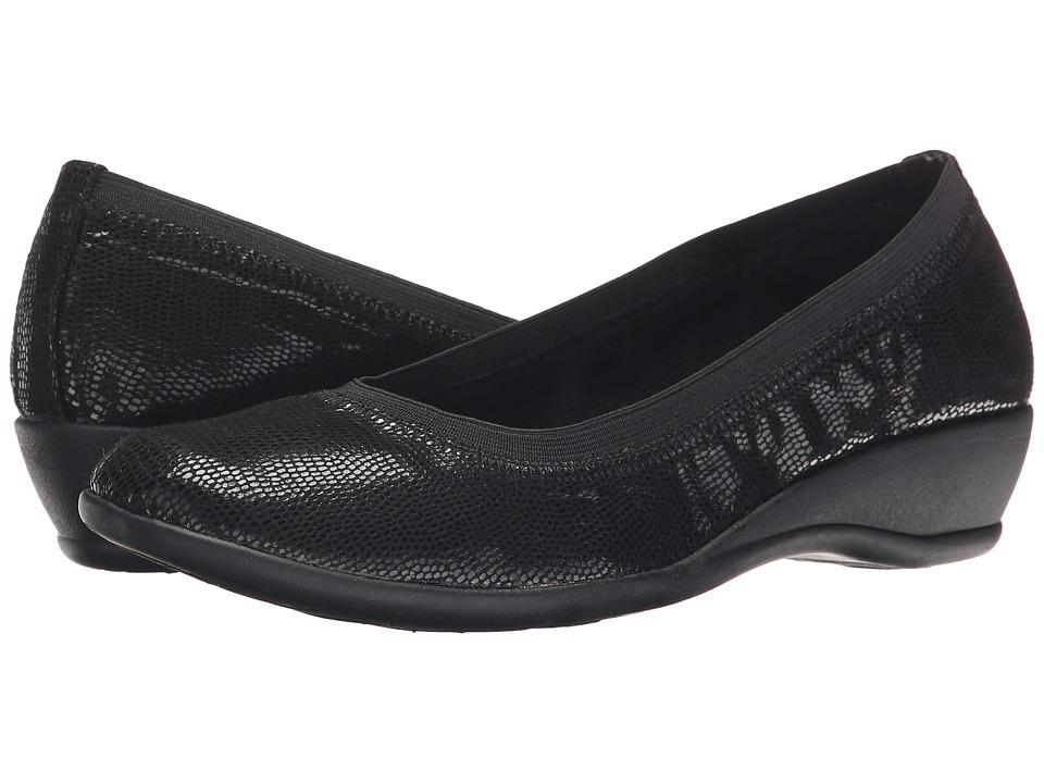 Soft Style Rogan (Black Lizard) Women