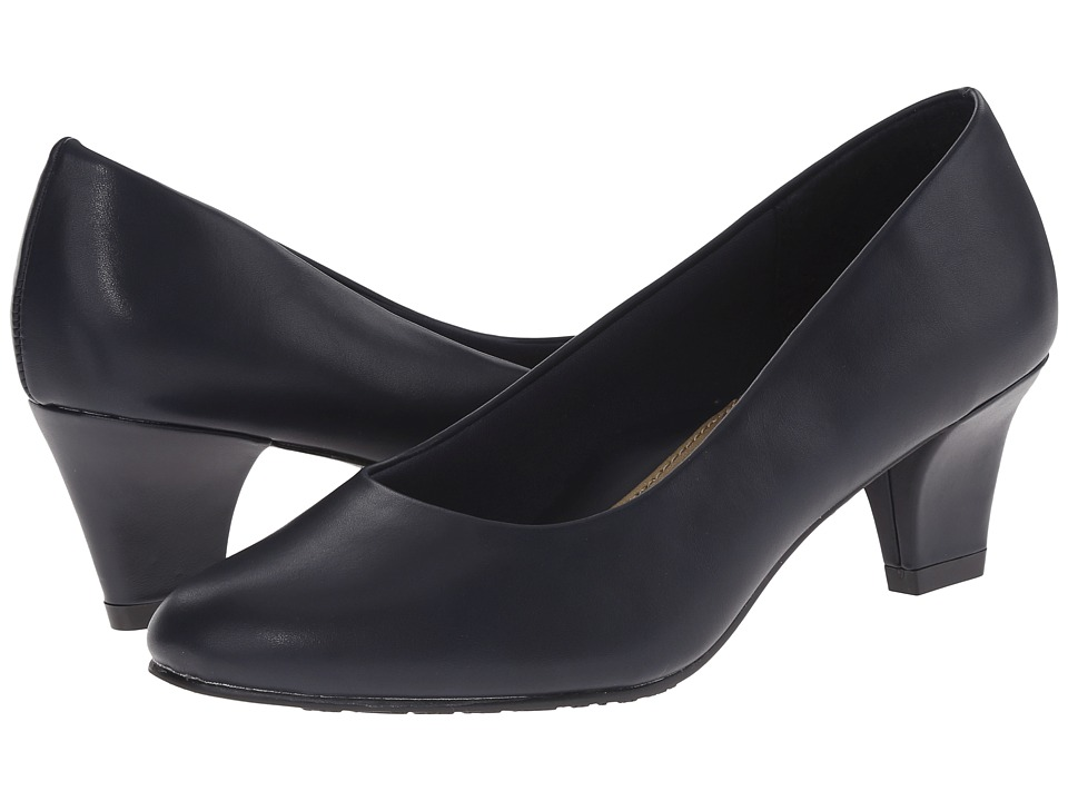 Soft Style Gail (Navy Leather) High Heels