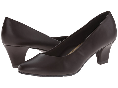 Soft Style - Gail (Dark Brown Leather) High Heels