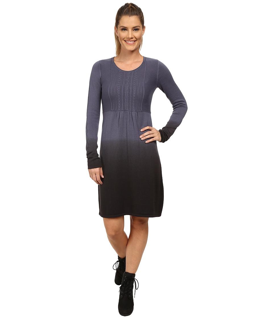 Aventura Clothing - Cassie Long Sleeve Dress (Grisaille/Phantom) Women's Dress