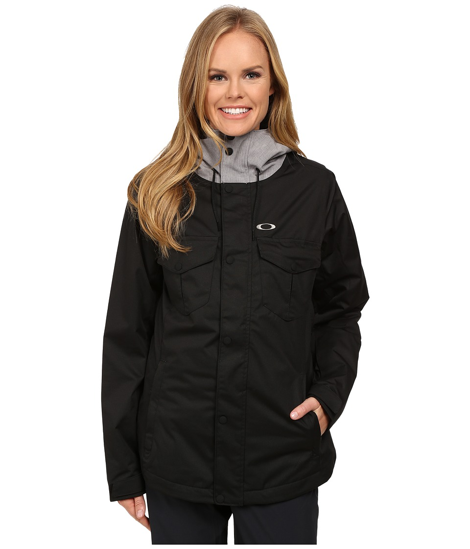 Oakley - Charlie 2 Biozone Insulated Jacket (Jet Black) Women's Coat