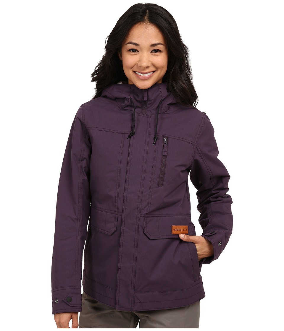 Oakley - Half Moon Jacket (Purple Shade) Women's Coat