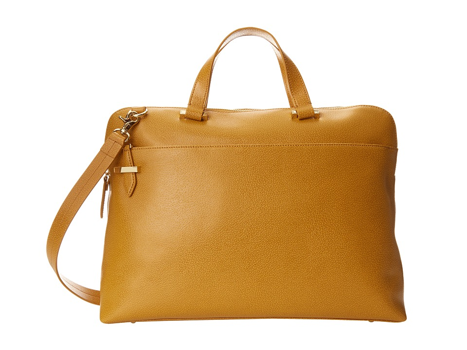 Lodis Accessories - Stephanie RFID Under Lock Key Jamie Medium Brief (Toffee) Briefcase Bags