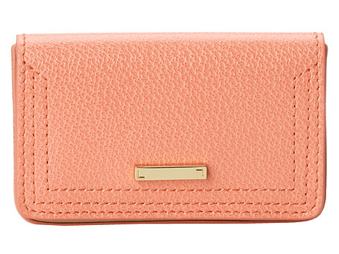 Lodis Accessories - Stephanie Under Lock Key Mini Card Case (Coral) Credit card Wallet