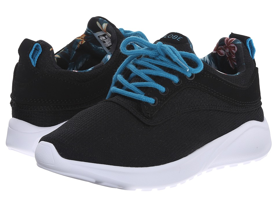 Globe Kids - Roam Lyte (Little Kid/Big Kid) (Black/Paradise) Boy's Shoes