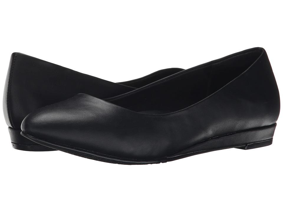 Soft Style - Darlene (Black Leather) Women's Dress Flat Shoes