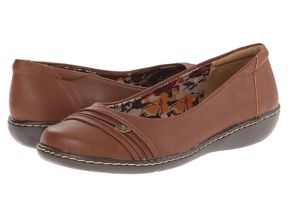 Soft Style Jordyn (Mid Brown Tumbled Leather) Women