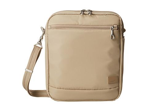 Pacsafe - Citysafe CS150 Anti-Theft Crossbody Shoulder Bag (Almond) Cross Body Handbags