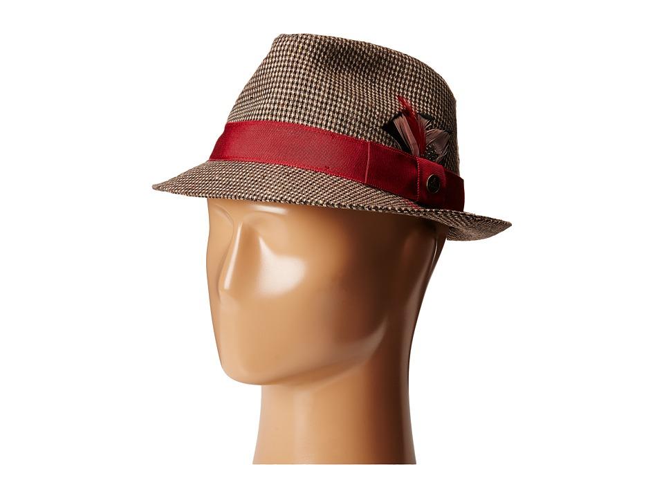 Prana - Haddie Wool Fedora (Pomegranate) Fedora Hats