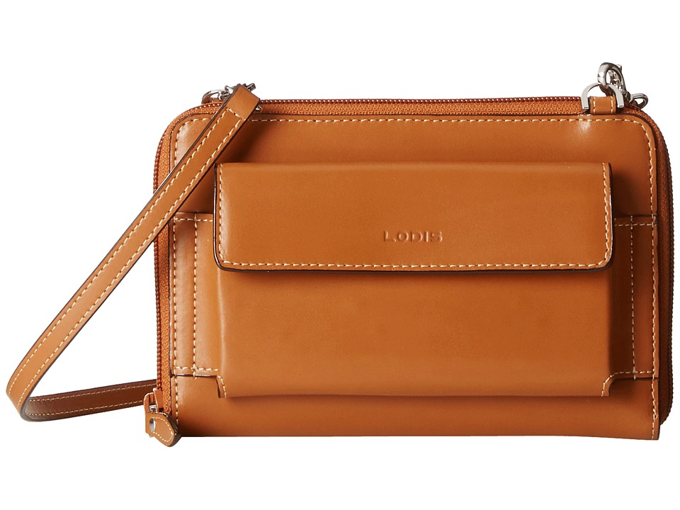 Lodis Accessories - Audrey Tracy Small Crossbody (Toffee/Chocolate) Cross Body Handbags