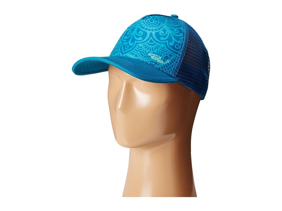 Prana - La Viva Trucker Hat (Cast Blue) Caps