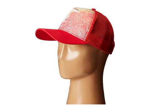 Prana - La Viva Trucker Hat (Coral) Caps