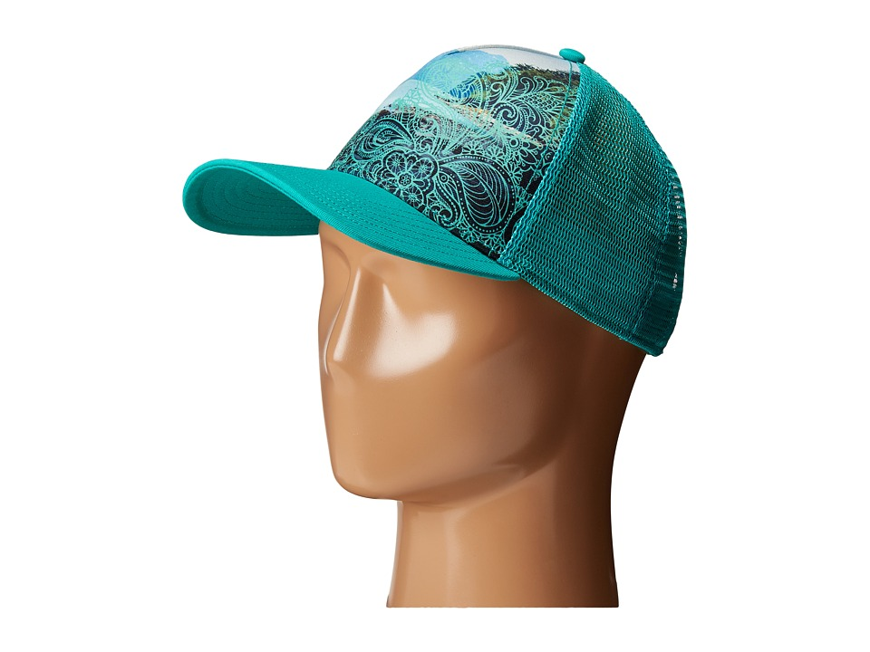 Prana - La Viva Trucker Hat (Mint) Caps