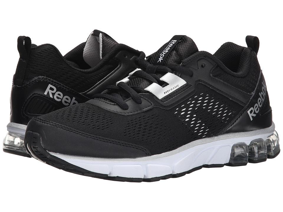 Reebok - Jet Dashride (Black/Silver/White) Men