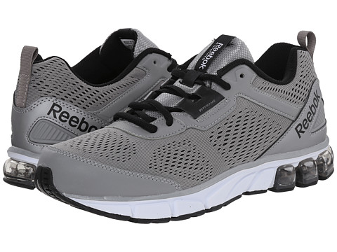Reebok - Jet Dashride (Flat Grey/Black/White) Men's Running Shoes