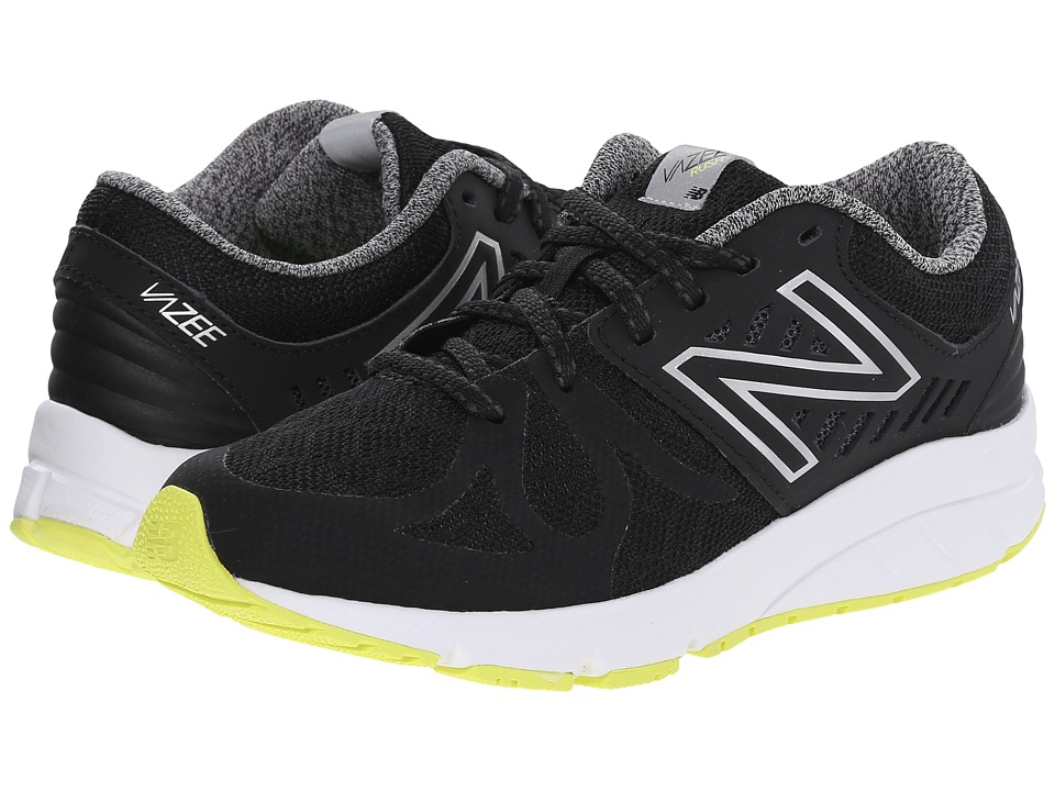 New Balance Kids - Vazee Rush (Big Kid) (Black/Hi-Lite) Boys Shoes