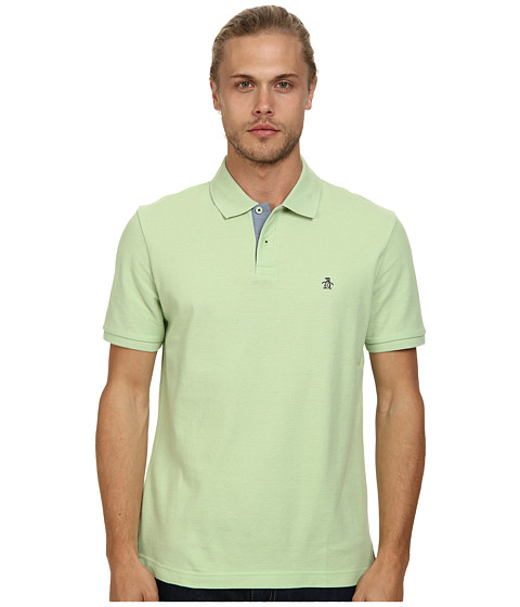 Original Penguin - Daddy-O Polo Classic Fit Shirt (Arcadian Green) Men's Short Sleeve Pullover
