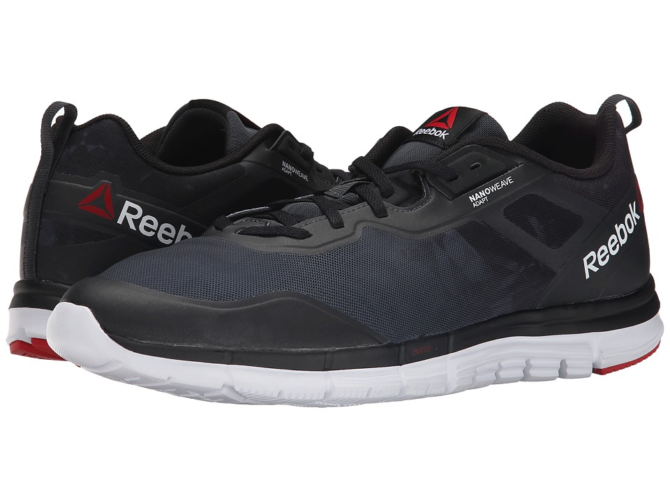 Reebok - ZQuick Tempo Soul (Gravel/Black/White/Red Rush) Men