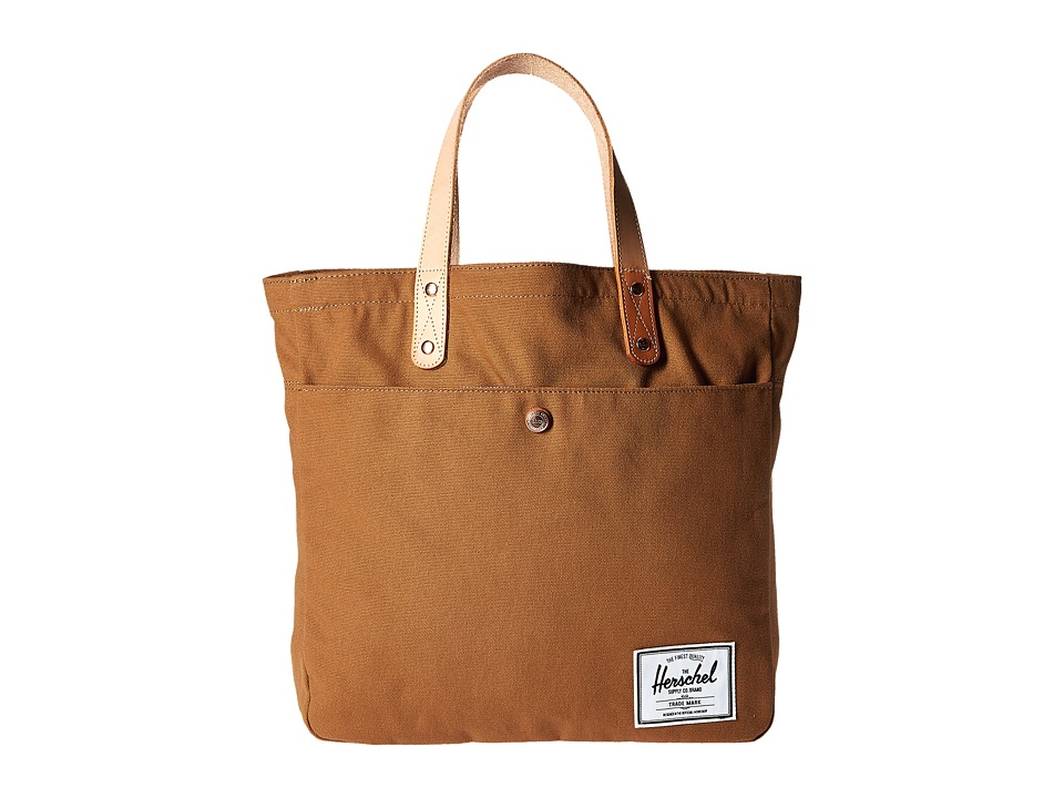 Herschel Supply Co. - Brohm (Caramel) Tote Handbags