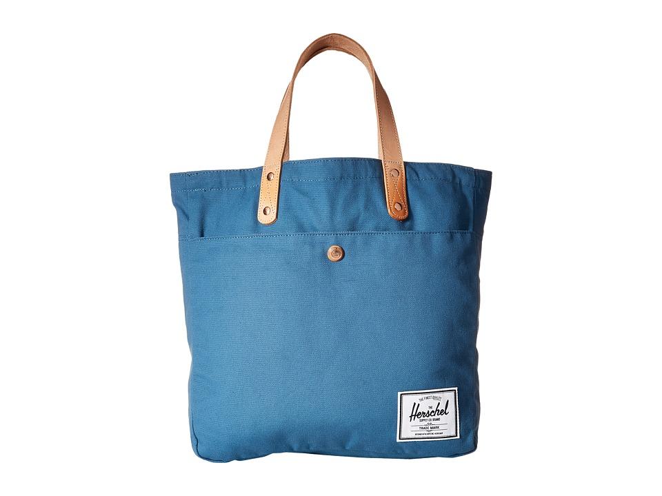 Herschel Supply Co. - Brohm (Cadet Blue) Tote Handbags