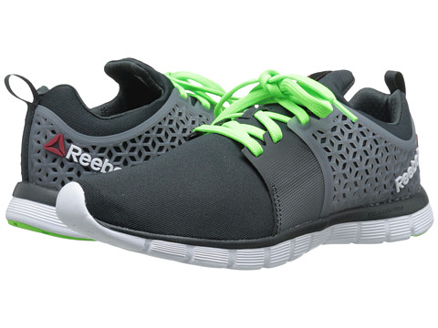 Reebok - Z Dual Rush 2.0 (Gravel/Flat Grey/Solar Green) Men's Running Shoes