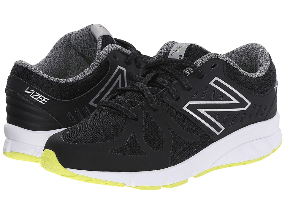 New Balance Kids - Vazee Rush (Little Kid) (Black/Hi-Lite) Boys Shoes