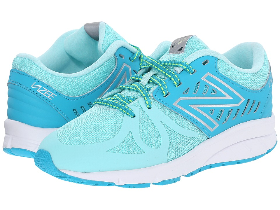 New Balance Kids - Vazee Rush (Little Kid) (Seaglass/Artic Blue) Girls Shoes