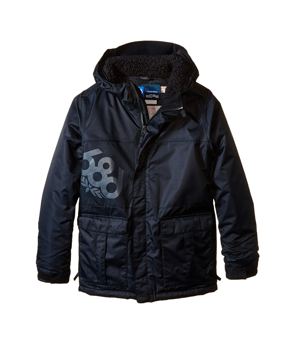 686 Kids - Elevate Insulated Jacket (Big Kids) (Black) Boy