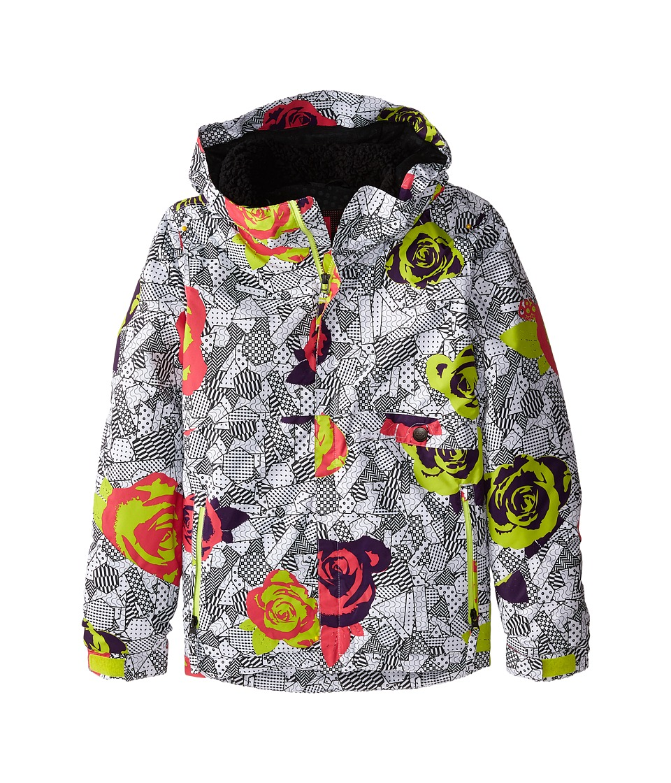 686 Kids - Wendy Insulated Jacket (Big Kids) (Fuschia Floral) Girl's Coat