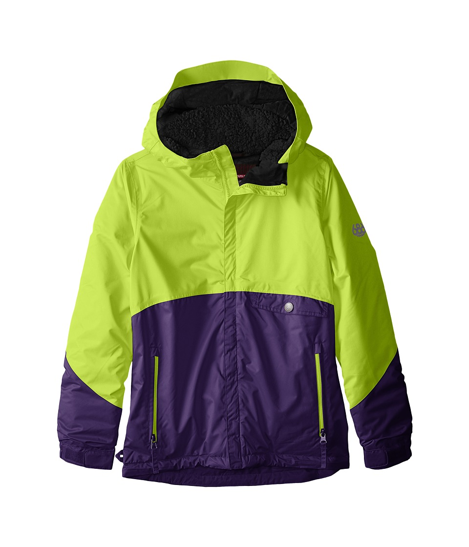 686 Kids - Wendy Insulated Jacket (Big Kids) (Violet Colorblock) Girl