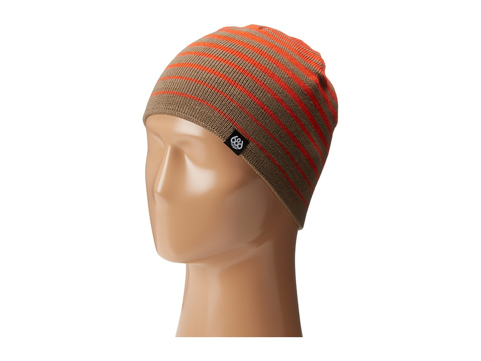 686 Kids - Elevated Reversible Beanie (Tobacco) Beanies