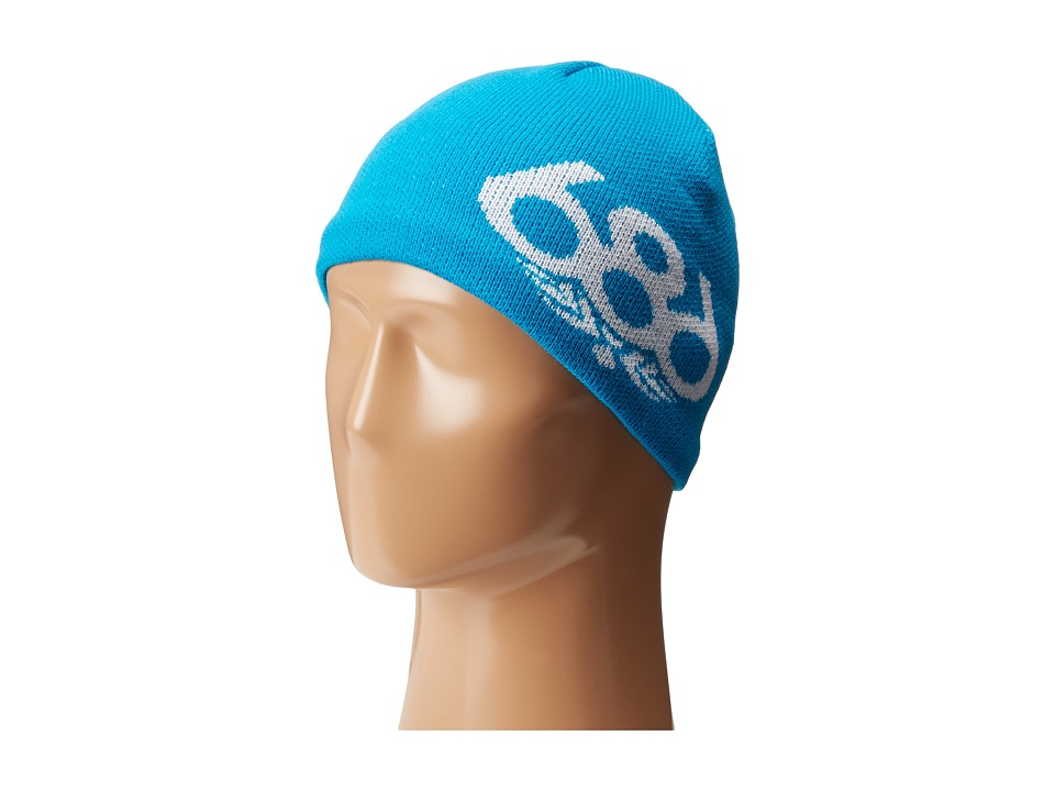 686 Kids - Icon Fleece Beanie (Blue) Beanies