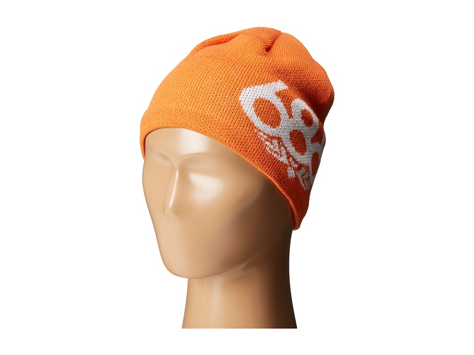 686 Kids - Icon Fleece Beanie (Orange) Beanies