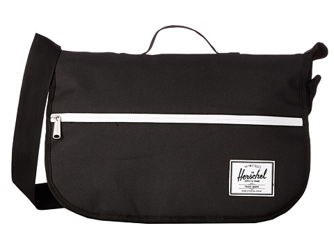 Herschel Supply Co. - Pop Quiz Messenger (Black) Messenger Bags