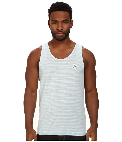 Original Penguin - Heritage Fit Tank Top (Corydalis Blue) Men's Sleeveless