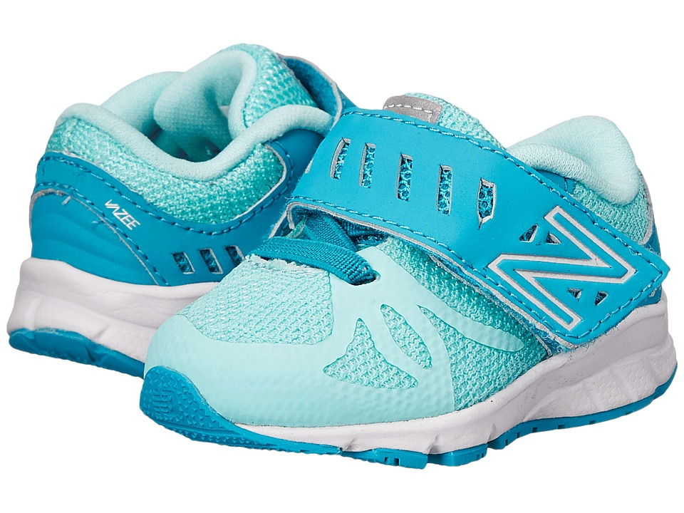 New Balance Kids Vazee Rush (Infant/Toddler) (Seaglass/Arctic Blue) Girls Shoes