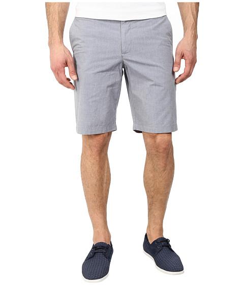 Original Penguin - Chambray Basic Slim Fit Shorts (Dress Blues) Men
