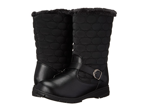 Soft Style - Pixie (Black Vylon/Vitello) Women's Cold Weather Boots