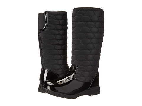 Soft Style - Paris (Black Vylon/Patent) Women's Cold Weather Boots