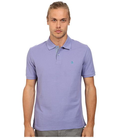 Original Penguin - Daddy-O Polo Classic Fit Shirt (Lavender Violet) Men's Short Sleeve Pullover