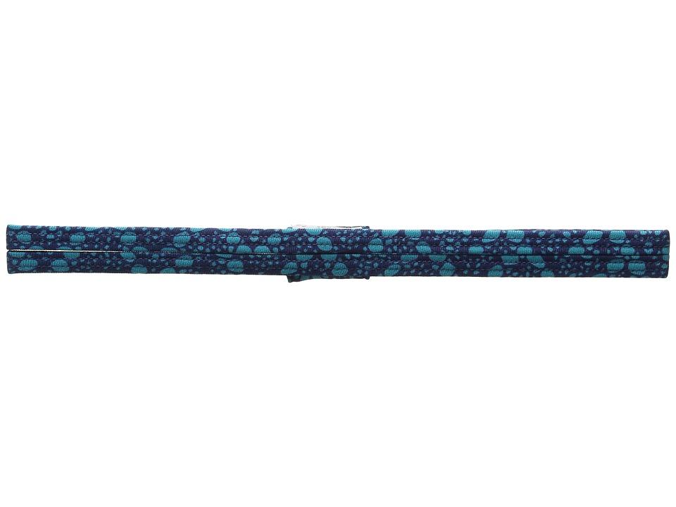 Prana - Printed Double Headband (Indigo Baleen) Headband